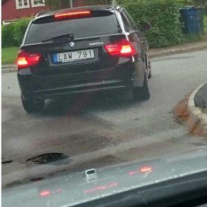 Militär lag. BMW.