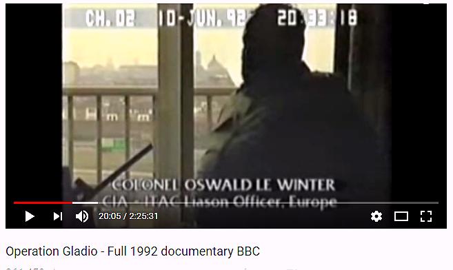 Även CIA intervjuas i BBC:s dokumentär om Gladio. Regeringarna fick skriva på avtal om att de tysta nätverken aldrig skulle åtalas för sina brott. Det verkar som om den överenskommelsen lever vidare i försvarens värld.