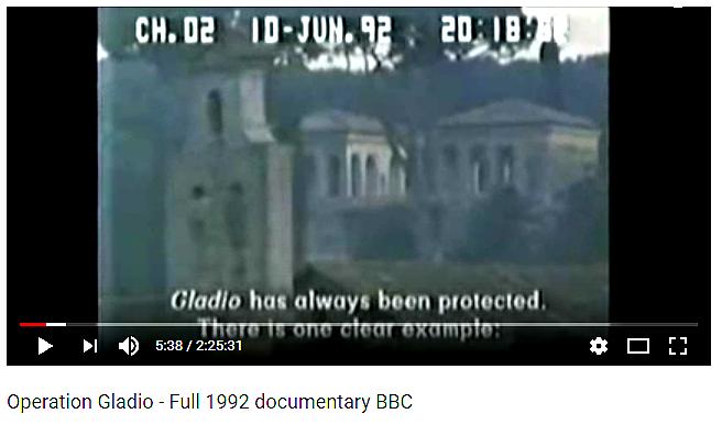 Ur BBC:s dokumentar om Gladio. Flera gånger återkommer man till att gärningsmännen skyddas från åtal och utredning. Youtube: https://www.youtube.com/watch?v=GGHXjO8wHsA