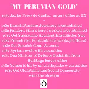 My Peruvian Gold