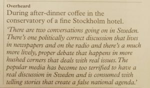 Quote from British magazine Monocle No 110. But come on, I tried to reach out to UK media as well without luck.