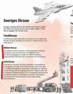 Sveriges försvar