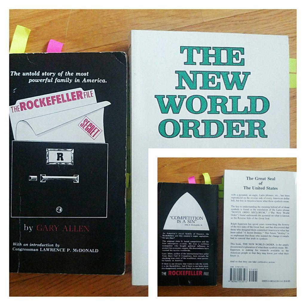 """Boken """"The Rockefeller Files"""" är listad i US Library of Congress. Amerikanska politiker fann det angeläget att uppmärksamma dynastin Rockefellers metoder och systematiska infiltrationer på det amerikanska samhället och politiska systemet - för egen vinning. Daterad 1976 men väl genomtänkta ideer är tidlösa."""