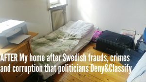 Ask Swedish Government and Parliament how this aligns with the idea of Sweden as an international role model for human rights and civil rights. It does not because Sweden is a giant fraud full of PR-lies.